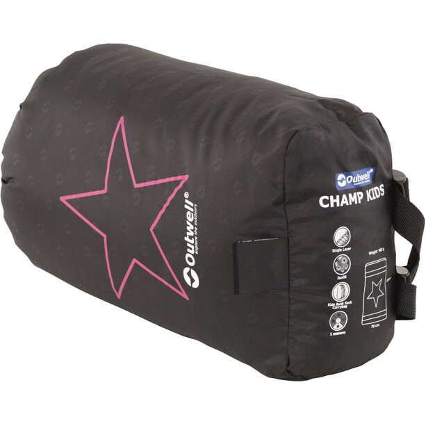 Outwell Champ Schlafsack Kinder deep red