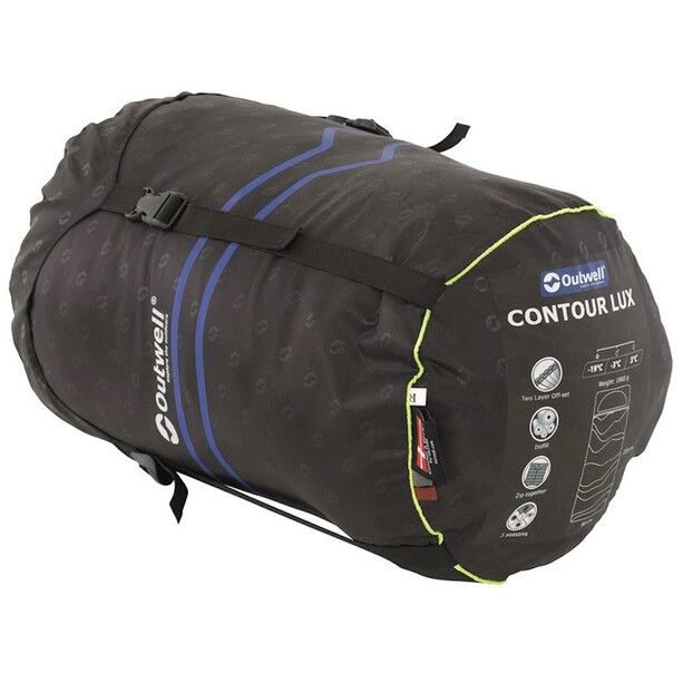 Outwell Contour Schlafsack midnight black