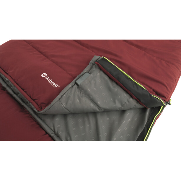 Outwell Contour Lux Schlafsack red