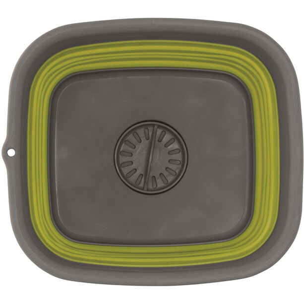 Outwell Collaps Waschschüssel mit Ausguss lime green