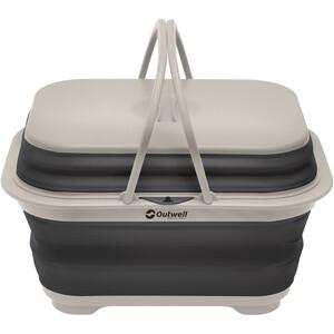 Outwell Collaps Washing Base with Handle & Lid grau/weiß grau/weiß