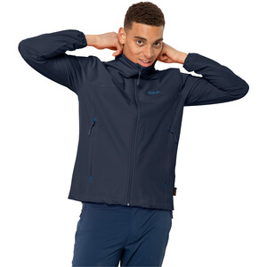 Jack Wolfskin Crestview Jacke Herren night blue night blue