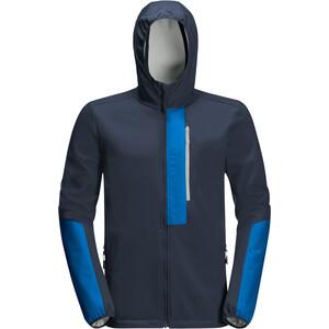 Jack Wolfskin 365 Racer Softshell Takki Miehet, night blue night blue