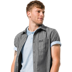 Jack Wolfskin El Dorado Kurzarmshirt Herren phantom checks phantom checks