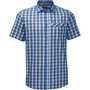 Jack Wolfskin Napo River Kurzarmshirt Herren night blue checks