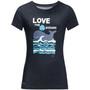 Jack Wolfskin Ocean T-Shirt Kinder night blue