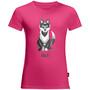 Jack Wolfskin Wolf T-shirt Enfant, rose
