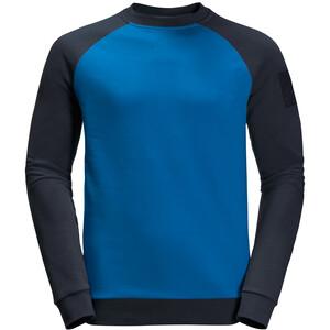 Jack Wolfskin 365 Langarm Rundhalsshirt Herren azure blue azure blue