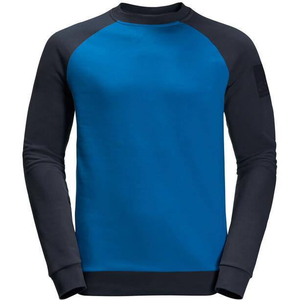 Jack Wolfskin 365 Langarm Rundhalsshirt Herren azure blue