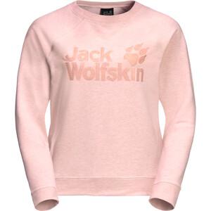 Jack Wolfskin Logo Sweatshirt Damen blush pink blush pink