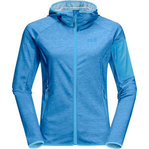 Jack Wolfskin Milford Kapuzenjacke Damen brilliant blue brilliant blue