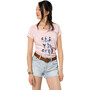 Jack Wolfskin Sea You Soon T-shirt Femme, rose