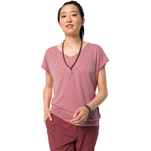 Jack Wolfskin Travel T-Shirt Damen rose quartz rose quartz