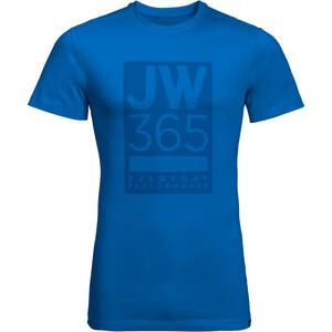 Jack Wolfskin 365 T-Shirt Herren blau blau