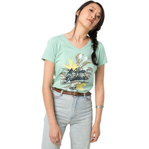 Jack Wolfskin At Home T-Shirt Damen light jade light jade