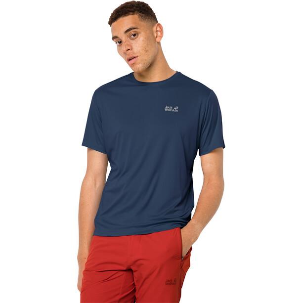 Jack Wolfskin Tech T-Shirt Herren dark indigo
