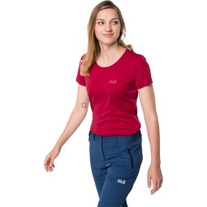 Jack Wolfskin Tech T-Shirt Damen scarlet scarlet