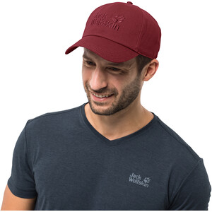 Jack Wolfskin Baseball Cap red maroon red maroon