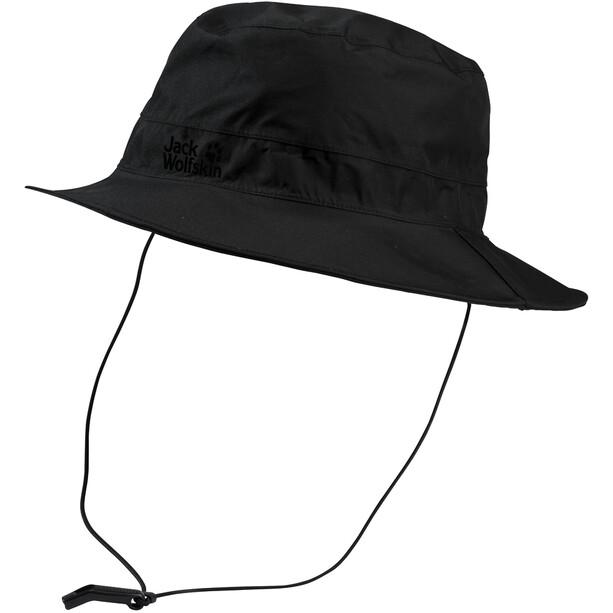 Jack Wolfskin Texapore Ecosphere Regen Hut black