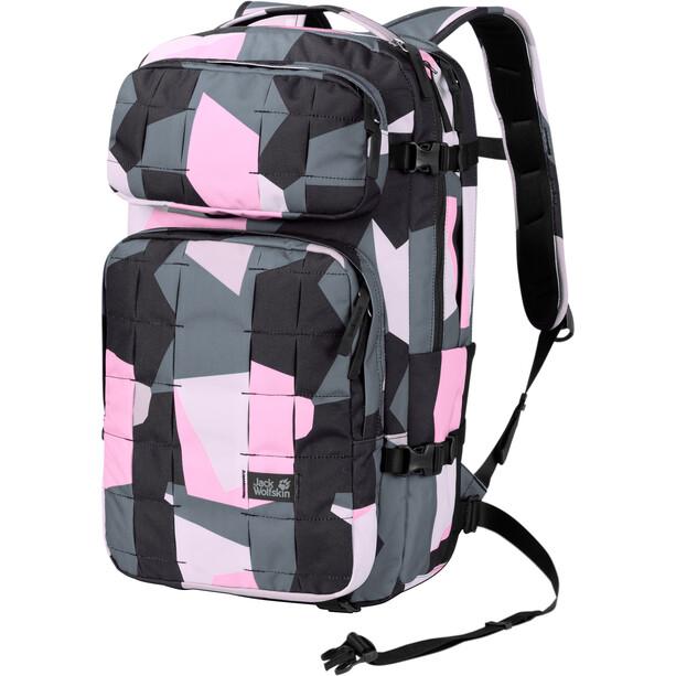 Jack Wolfskin TRT 22 Daypack pink geo block