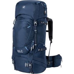 Jack Wolfskin Highland Trail 45 Sac à dos Femme, bleu bleu