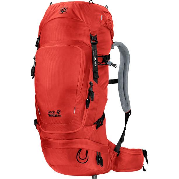 Jack Wolfskin Orbit 34 Recco Rucksack lava red