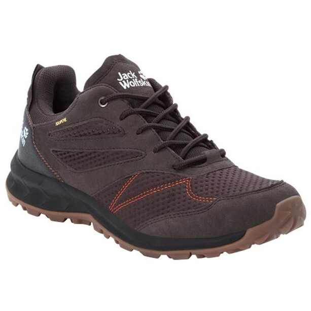 Jack Wolfskin Woodland Texapore Low-Cut Schuhe Herren espresso/dark red