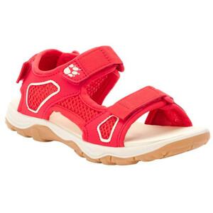 Jack Wolfskin Taraco Beach Sandals Kids red/champagne red/champagne