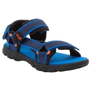 Jack Wolfskin Seven Seas 3 Sandals Kids blue/orange blue/orange