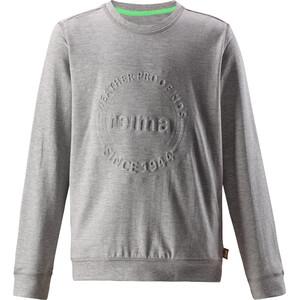 Reima Ljung Pullover Jungen melange grey melange grey