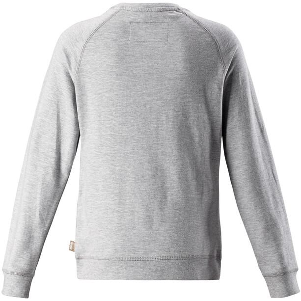 Reima Lingon Pullover Girls Melange Grey