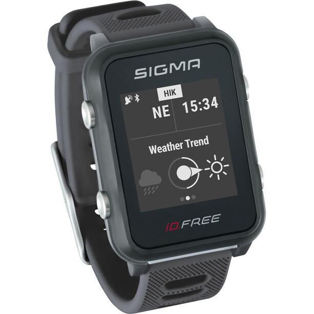SIGMA SPORT iD.FREE Multisport-Uhr grey