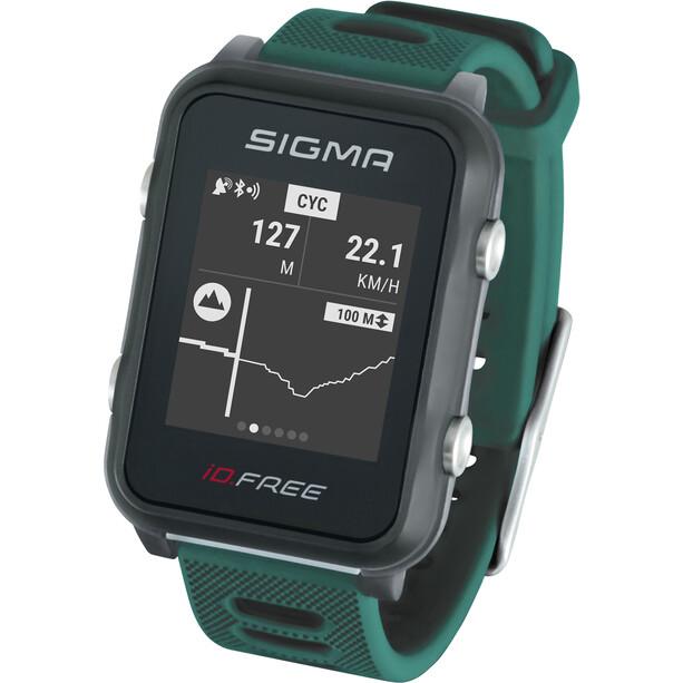 SIGMA SPORT iD.FREE Multisport-Uhr green