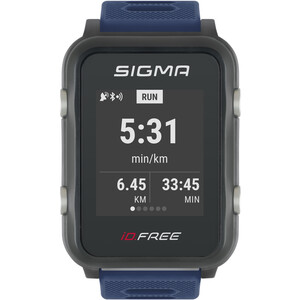 SIGMA SPORT iD.FREE Multisport-Uhr blue blue