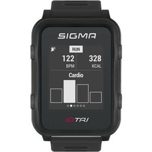 SIGMA SPORT iD.TRI Multisport-Uhr Set schwarz schwarz
