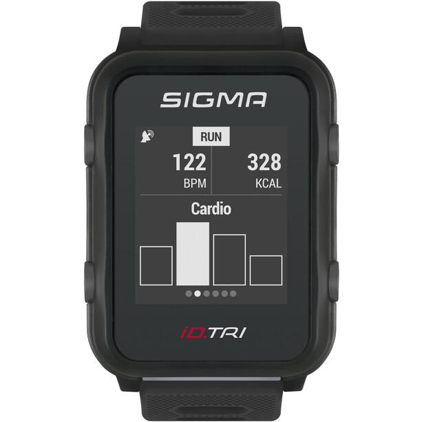 SIGMA SPORT iD.TRI Montre Multisport Kit, noir