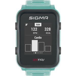 SIGMA SPORT iD.TRI Montre Multisport Kit, turquoise/noir turquoise/noir