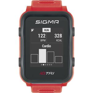 SIGMA SPORT iD.TRI Multi-Sport Watch Set neon red neon red