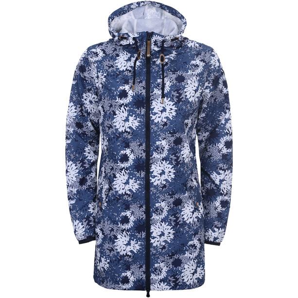 Icepeak Ep Adenau Windbreaker Mantel Damen blue