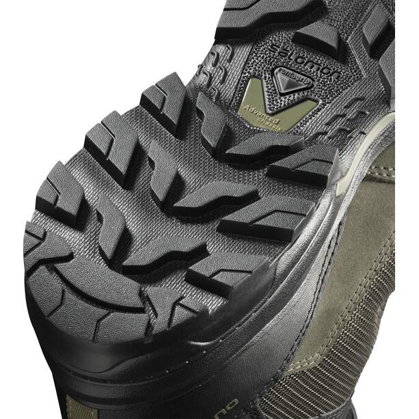 Salomon OUTward GTX Schuhe Herren peat/black/burnt olive