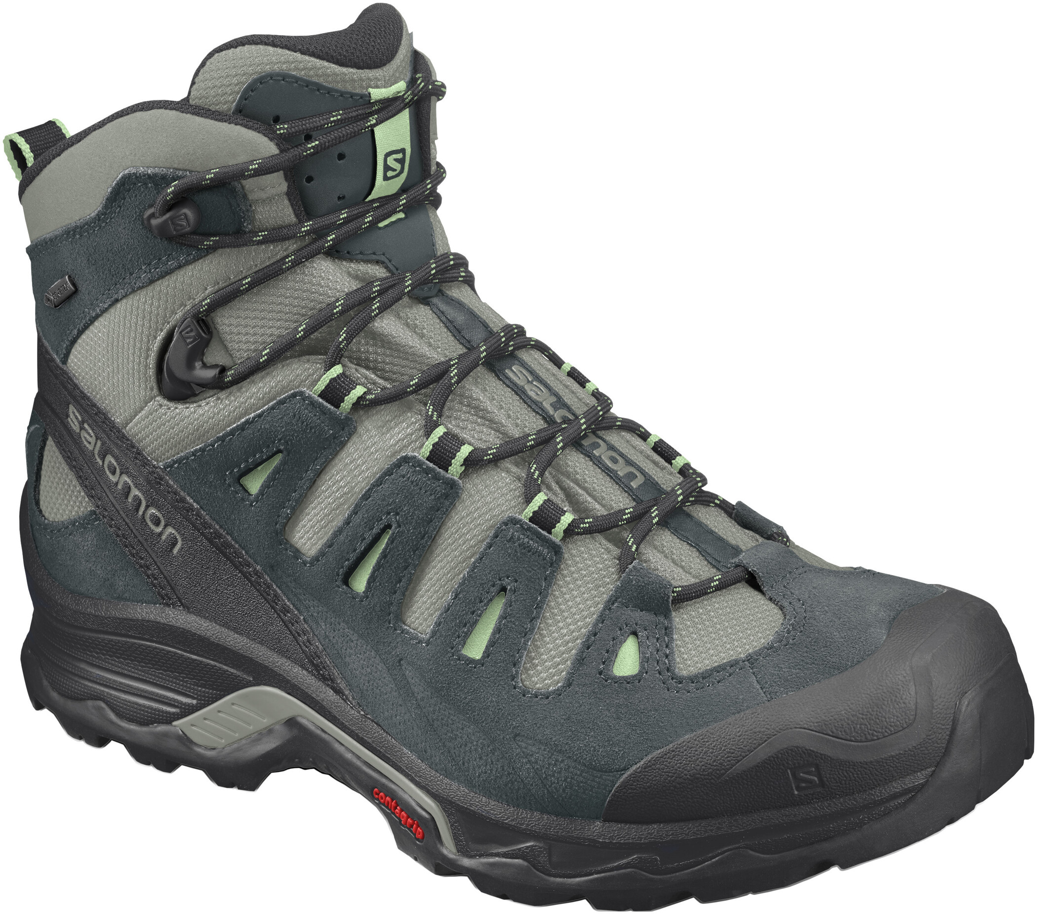 Salomon Quest Prime GTX Shoes Women leadstormy weather