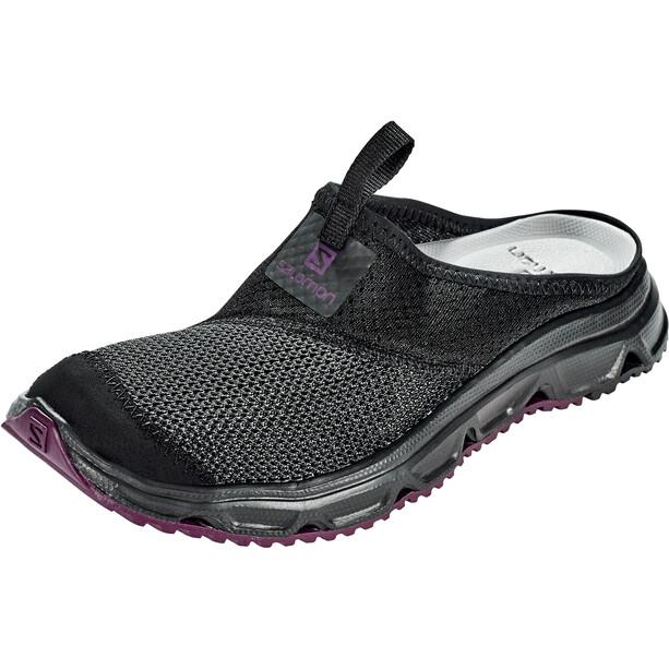 Salomon RX Slide 4.0 Schuhe Damen black/black/potent purple