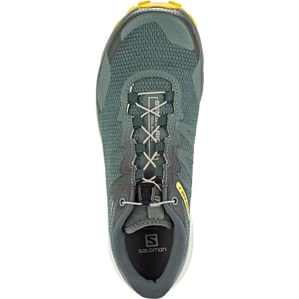Salomon Sense Ride 3 Shoes Men, balsam green/vanilla ice/sulphur