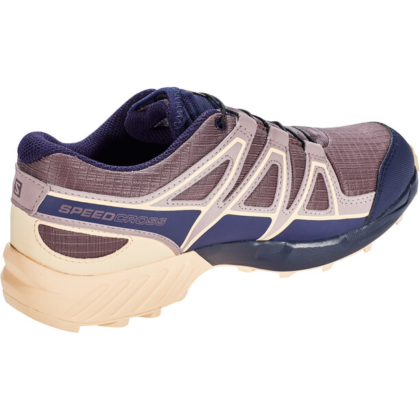 Salomon Speedcross CSWP Schuhe Kinder flint/evening blue/bellini