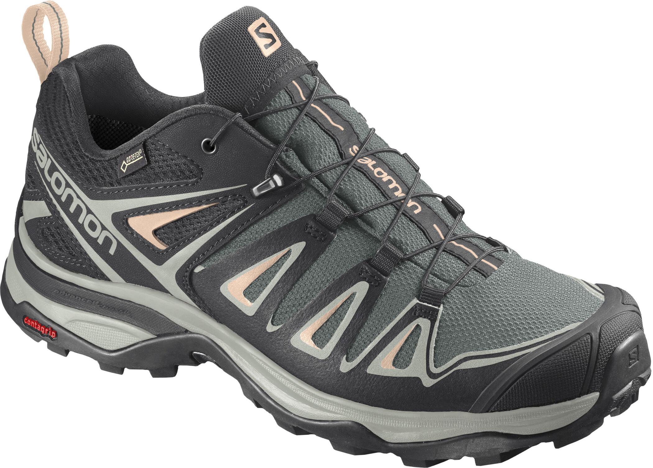 Salomon X Ultra 2 GTX Hiking Schuhe Schwarz Für Damen