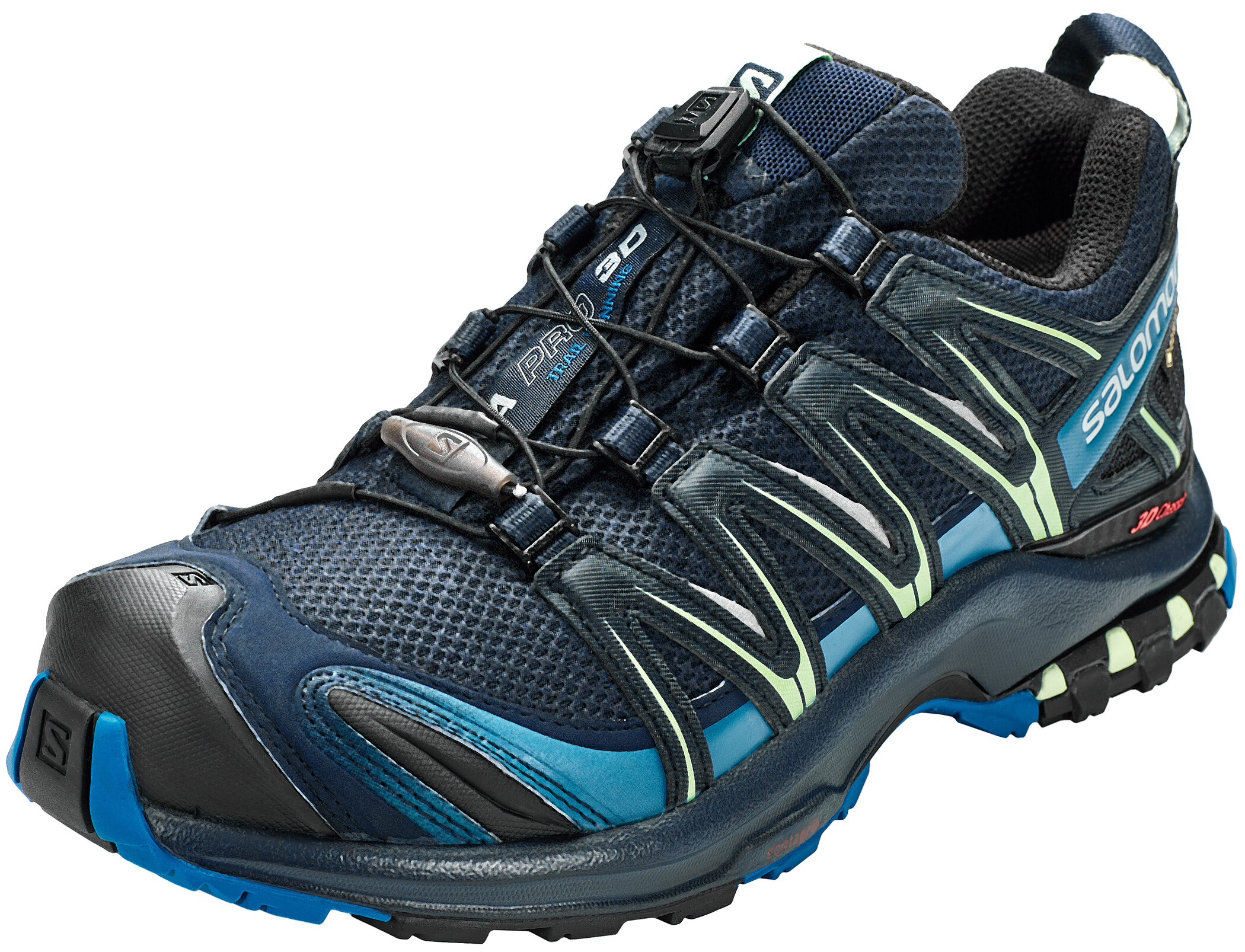 Salomon XA Pro 3D GTX Shoes Dam navy blazerlyons bluespruce stone