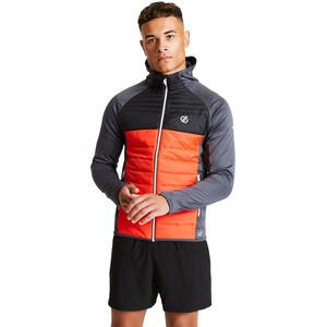 Dare 2b Coordinate Wool Hybrid Jacket Men, trail blaze/black/ebony grey trail blaze/black/ebony grey