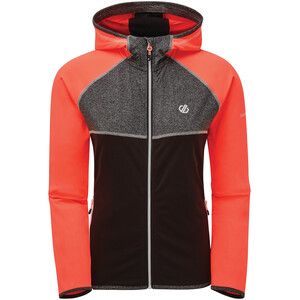 Dare 2b Courteous II Core Stretch Takki Naiset, fiery coral/black/charcoal grey marl fiery coral/black/charcoal grey marl