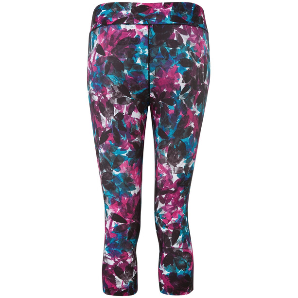 Dare 2b Influential 3/4 Tights Damen active pink botanical print