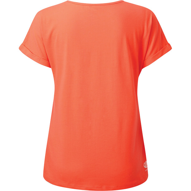 Dare 2b Improve T-Shirt Damen fiery coral